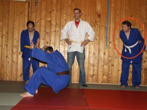 Judo Fallübung